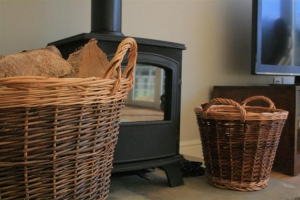 notgrove cotswold holiday cottage hazelnut barn living room woodburner