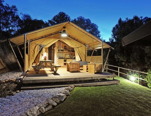 New Cotswold Safari Tents at Notgrove!